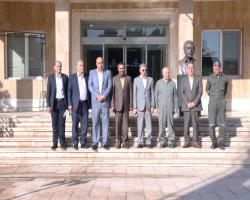 دیدار عضو هیات مدیره بانک ملّی ایران با مدیر عامل جدید شرکت پالایش نفت تهران