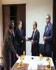جلسه معارفه سرپرست شرکت گروه مالی بانک توسعه تعاون برگزار شد