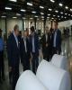 بازدید اعضای شورای نگهبان از محل چاپ تعرفه های انتخاباتی در بانک ملی ایران