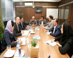 بازدید مدیران بانک تجارتی ایران و اروپا از بانک دی